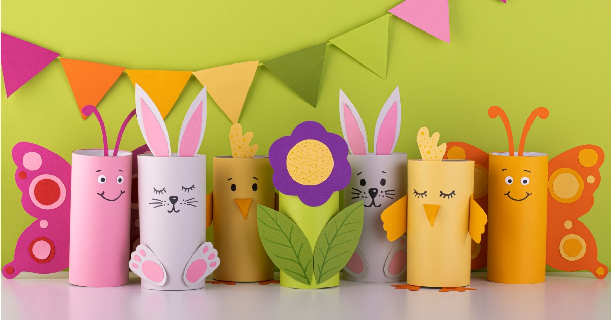 Eco-friendly Easter craft