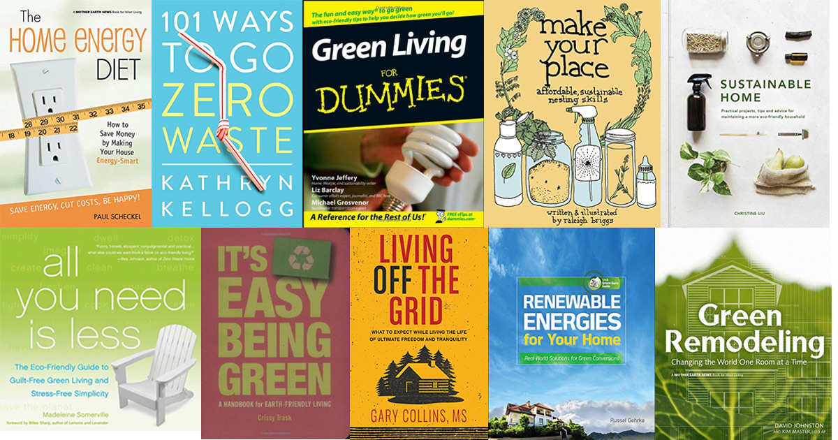 books on sustainable and eco-friendly living